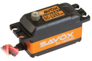Savox SC-1252MG Low Profile Coreless Digital Servo