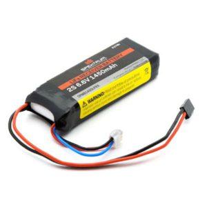 Spektrum 1450mAh 2S 6.6volt Li-Fe Receiver Battery