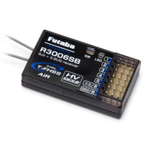 Futaba R3006SB - 6-Channel Rx T-FHSS (S-Bus) (HV) 2.4GHz