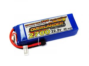 Overlander 2700mAh 6S 22.2v 30C LiPo Battery