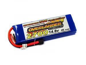 Overlander 2700mAh 4S 14.8v 30C LiPo Battery