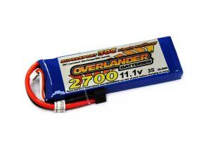 Overlander 2700mAh 3S 11.1v 30C LiPo Battery