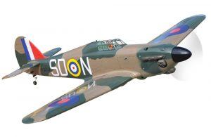 Black Horse Hawker Hurricane II .46 ARTF
