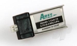 50mAh 1-Cell/1s 3.7V LiPo Battery Sopwith Pup