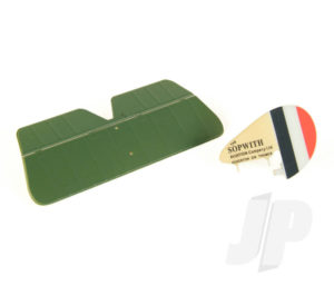 Tail Set W/Decals Sopwith Pup