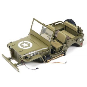 ROC HOBBY 1941 MB SCALER CAR BODY ASSEMBLY
