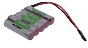 6v Battery Pack 950mAh Nimh *FLAT* AAA Instance Vapextech RX