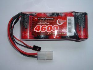 6v RX Power Pack Sub C 4600 mAh Ni-HM