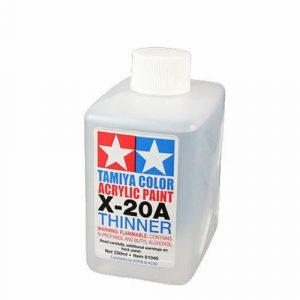 81040 THINNER 250ml X20-A X20A