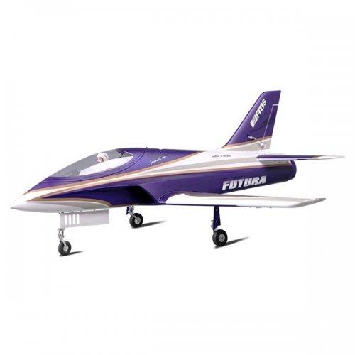 FMS 1060MM Futura 80MM EDF JET ARTF W/O TX/RX/BATT Purple Spares