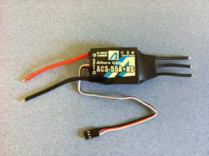 Alturn Brushless Motor Controller 55A w  Heat Sink