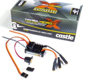 Castle Mamba Micro X 1 18th Car ESC