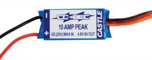 Castle Castle BEC - 10A Voltage Regulator, 25V Max
