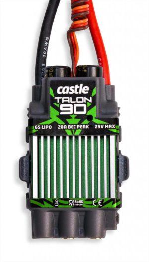 Castle Talon 90 , 25V 90 AMP ESC, with high output BEC