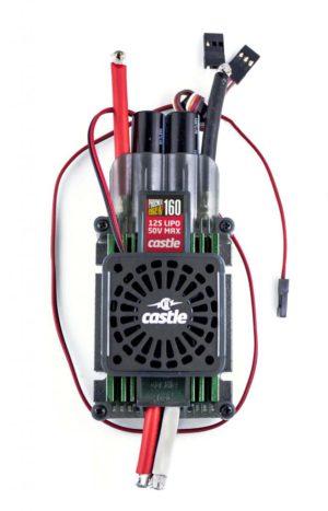 Castle Phoenix Edge 160HVF W Cooling Fan, No Bec