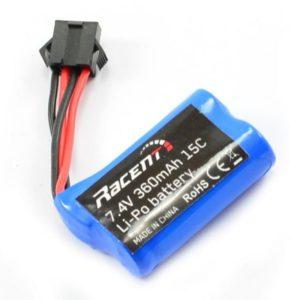 LiIon 7.4V 360mAh Battery