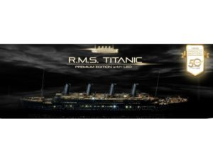 Academy 1/400 RMS TITANIC Premium Edition With LED Model Kit