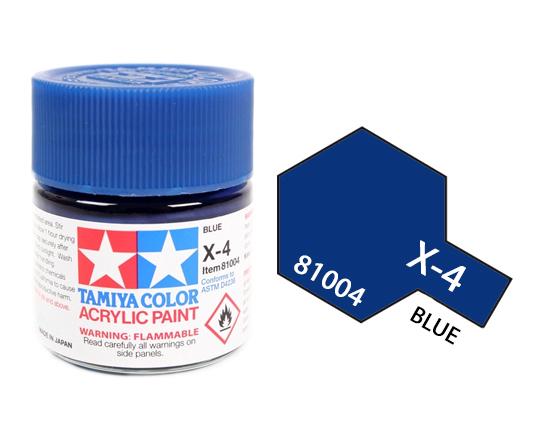 ACRYLIC Mini X-4 Blue