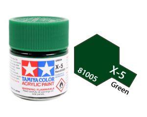 ACRYLIC MINI X-5 Green