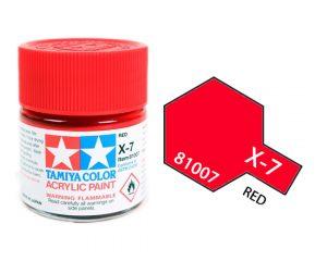 ACRYLIC MINI X-7 RED
