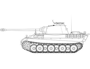 AIRFIX 1/35 PANTHER AUSF.G MODEL KIT A1352