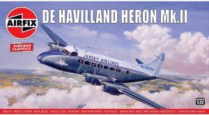 AIRFIX 1/72 DE HAVILLAND HERON MKII MODEL KIT