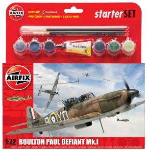 Airfix Boulton Paul Defiant Mk.I Starter Set 1:72