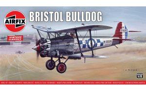 Airfix Bristol Bulldog 1:72 Plastic Model Kit A01055V