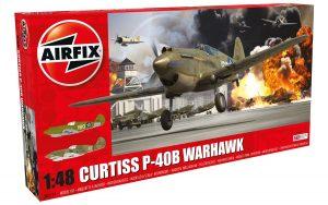 Airfix Curtiss P-40B 1:48 # A05130