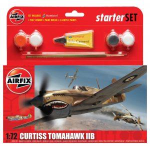 Airfix Curtiss Tomahawk IIB Starter Set 1:72