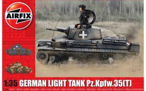 Airfix German Light Tank Pz.Kpfw.35(t) 1:35 A1362