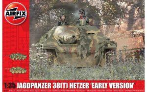 Airfix JagdPanzer 38 tonne Hetzer Early Version 1:35 A1355