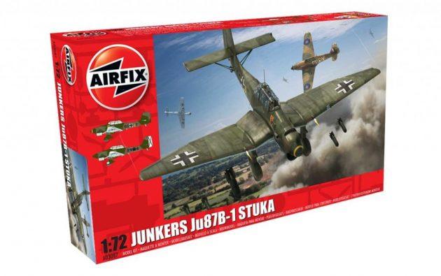 Airfix Junkers Ju87 B-1 Stuka 1:72 # A03087