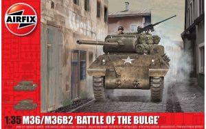 Airfix M36/M36B2, Battle of the Bulge 1:35 A1366