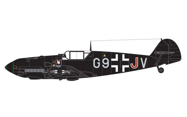 Airfix Messerschmitt Bf109E-4/E-1 1:48