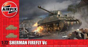 Airfix Sherman Firefly 1:72 Plastic Model Kit A02341