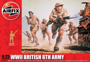 Airfix WWII British 8th Army 1:72 # A01709