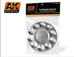 AK Interactive - Aluminium Palettes (10 Wells)