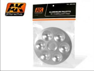 AK Aluminium Palettes 6 Wells