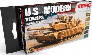 AK Interactive Meng - US Modern Vehicles Colour Set