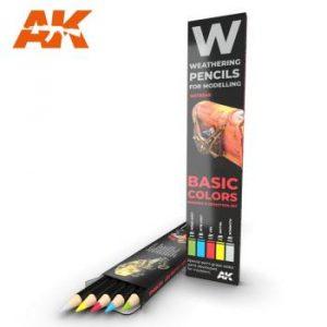 AK Interactive Pencils Set - Basics