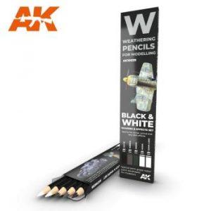 AK Interactive Pencils Set - Black & White