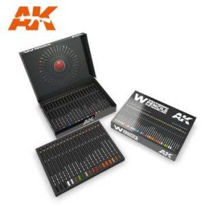 AK Interactive Pencils Set - Deluxe Edition Box 37 Pencils