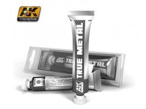AK Interactive True Metal Paints Aluminium # 00455