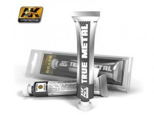 AK Interactive True Metal Paints Brass # 00460