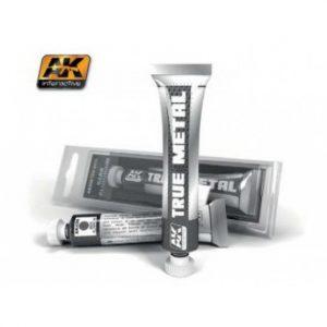 AK Interactive True Metal Paints Dark Aluminium # 00456