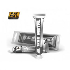AK Interactive True Metal Paints Gun Metal # 00461