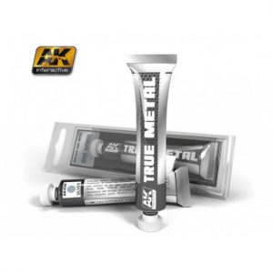 AK Interactive True Metal Paints Silver # 00458