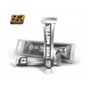 AK Interactive True Metal Paints Steel # 00457