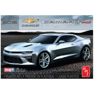 AMT 1:25 2016 Chevy Camaro SS Snap Kit (Red)